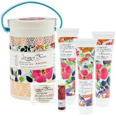Library of Flowers Arboretum Field Bath Goods Sampling Kit