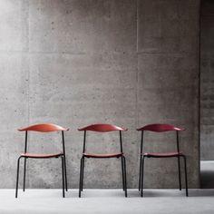 Hans J. Wegner's CH88 chair put into  production by Carl Hansen & Son