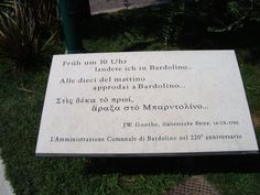 Goethe è uno dei tanti personaggi famosi che sono transitati per il Garda, e chissà che non ne abbia tratto ispirazione per il suo Faust...
