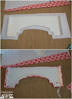 to Build a Window Cornice window cornice. Awesome and so simple for the DIY project person. Awesome and so simple for the DIY project person. Window Cornices, Window Coverings, Valances, Pelmet Box, Window Cornice Diy, Valance Window Treatments, Box Valance, Custom Window Treatments, Window Blinds