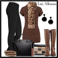 """""""Sweater Dress"""" by Lori Atkinson on Polyvore"""