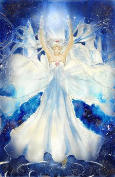 Gorgeous Neo Queen Serenity and Crystal Tokyo