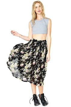 Blooms Day Skirt