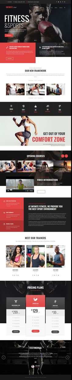 Infinite is well designed responsive WordPress theme for multipurpose amazing #website. #fitness #gym Download Now!