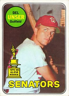 Del Unser great rookie year but journey man bench player most of all