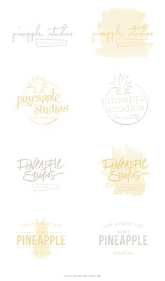 Pineapple Studios - Salted Ink Design Co.