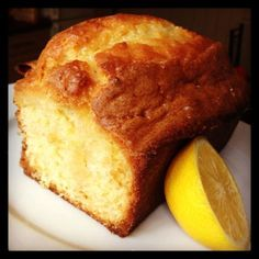 The only Lemon Drizzle Cake recipe you'll ever need! Lemon Drizzle Cake has never really floated my boat…up until now. Normally, if I'm going to spend valuable calories indulging in a slice of cake I'll go all out, and choose someth… Lemon Curd Dessert, Lemon Recipes, Sweet Recipes, Baking Recipes, Easy Recipes, Healthy Cake Recipes, Food Cakes, Cupcake Cakes, Rose Cupcake