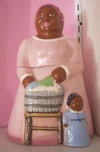 Lovely Aunt Jemima Cookie jar bank ~ www.jazzejunque.com