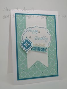 Gothdove Designs - Alison Barclay Stampin' Up! ® Australia : Stampin' Up! Australia - Color Coach Card #41 - Memorable Moments