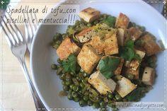 la cucina di Jorgette: Spadellata di Tofu con pisellini e mentuccia!!!