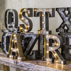 Carnival Letter Lights - Letters & Typography - Home Decoration - Home Accessories