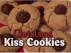 Kiss cookies are my favorite Christmas cookies. My sister is a primo baker and during the holidays she goes completely crazy. She makes thumbprint cookies, snowball cookies, toll house cookies, cho...