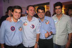 Evento com Eduardo Paes e Marco Antônio Cabral