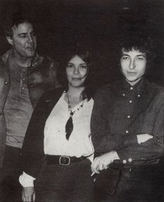 """Marlon Brando, Patricia Quinn and Bob Dylan in 1966. """"The two loudest things I ever heard in my life were a jet plane taking off, and Bob Dylan and The Band"""" said Marlon Brando"""