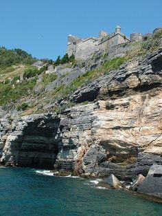 Castello la Grotta Byron - Porto Venere, Liguria, Italy