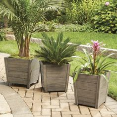 Shop for Pots & Planters in Patio & Outdoor Decor. Buy products such as 4 Tier Stainless Steel Flower Planter Plant Stand Garden Display Holder Shelf Rack for Home Room Ornaments Indoor Outdoor Patio at Walmart and save. Large Outdoor Planters, Large Backyard, Wood Planters, Garden Pool, Lawn And Garden, Home And Garden, Outdoor Projects, Outdoor Decor, Pergola
