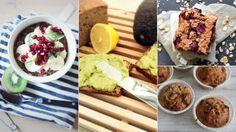 Åtte raske frokoster som får deg opp om morgenen Food Hacks, Food Tips, Cooking Recipes, Healthy Recipes, Superfoods, Food Inspiration, Health Tips, Cereal, Om