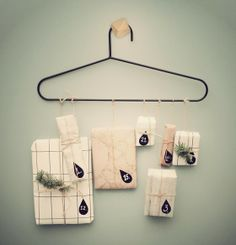 Fun Advent // Firm Living - Wire Hanger