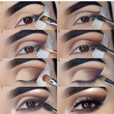 @glamorous_reflections step by step #smokeyeye #laurag_143 #beccacosmetics #anastasiabeverlyhills #morphe #morphebrushes #tartecosmetics #urbandecay #shimycatsmua #fiercesociety #glowup #makeupgoals #makeupforever #instabeauty #shophudabeauty #makeuptips #makeupblogger #beautiful #eotd#lotd#mua#nars#houseoflashes #sigmabeauty