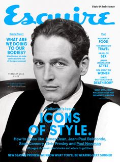 Paul Newman - Esquire Magazine Cover [United Kingdom] (1 February 2015)