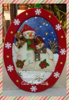 Olga Ríos's media content and analytics Christmas Crafts For Gifts, Felt Christmas, Craft Gifts, Christmas Time, Christmas Cards, Christmas Decorations, Christmas Ornaments, Holiday Decor, Christmas Ideas