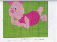 Piglet 2 of 2 Eeyore, Tigger, Pooh Bear, Plastic Canvas, Cross Stitching, Winnie The Pooh, Cross Stitch Patterns, Projects To Try, Owl