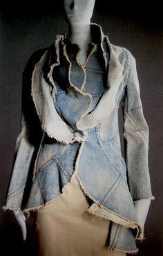 Resultado de imagen para denim jacket recycle