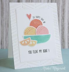 Such a Sweet card created by Nichol Magouirk using brand New Simon Says Stamp from the Color of fun Release.
