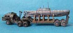 pioter kiste: Dragon Wagon with Seehund Dragon Wagon, Model Tanks, Model Ships, Heavy Equipment, Plastic Models, Scale Models, Wwii, Monster Trucks, Vehicles