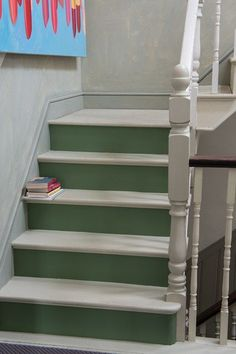 Painted Stairs - Decorating Tips - Quick DIY  Home Decorating Tips (houseandgarden.co.uk)