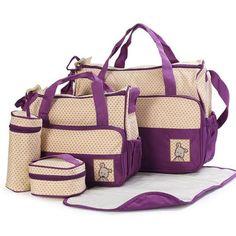 Good Quality Brand Multifunction 5 Pieces Mother Mommy Maternity Nappy Bag Baby Bag For Mom Diaper Bag Bolsa De Bebe Maternidade
