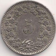Wertseite: Münze-Europa-Mitteleuropa-Schweiz-Franken-0.05-1879-1980