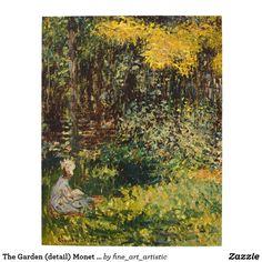 The Garden (detail) Monet Fine Art Jigsaw Puzzle
