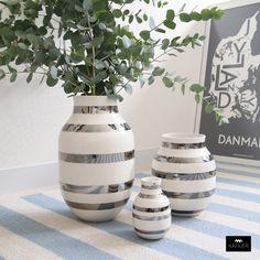 【楽天市場】ブランド一覧 > Kahler > Kahler Omaggio Silver Vase:KOZLIFE コズライフ