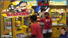 Chuck E Cheese's Mr. Fun Games, Games To Play, Chuck E Cheese, Arcade Machine, Arcade Games, Nostalgia, Fishing, Canning, Brown