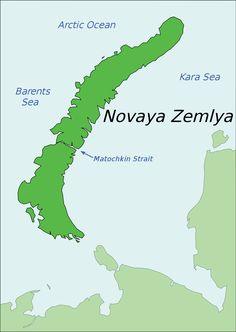 Novaya Zemlya (Russian: Но́вая Земля́, IPA: [ˈnovəjə zʲɪmˈlʲa], lit. the new land), also known as Nova Zembla (especially in Dutch), is an archipelago in the Arctic Ocean in northern Russia and the extreme northeast of Europe, the easternmost point of Europe lying at Cape Flissingsky on the Northern island. Novaya Zemlya is composed of two islands, the northern Severny Island and the southern Yuzhny Island, which are separated by Matochkin Strait. Administratively, it is incorporated…