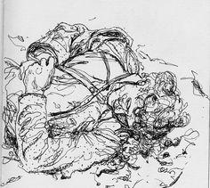 Sketchbook Gallery 3 - War — George Pratt
