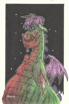 Pete's Zombie Dragon - Piers Hazell