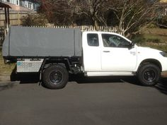 Hilux canvas cover & Dual Cab Hilux | Hilux mods | Pinterest | Ute Canopy and 4x4