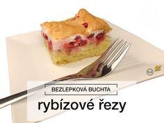 Bezlepkové rybízové řezy podle rodinného receptu ze Slovenska jsou ideální moučník pro letní sezonu, kdy je všude spousta ovoce. Lehké piškotové těsto a nádivka ze sněhu a ovoce dodají tomuto moučníku zajímavý nádech a strukturu. Vyzkoušejte ho a nebudete litovat! #rybizove #rezy #bezlepkoverecepty #bezlepkový #recept Gluten Free Recipes, Free Food, Pudding, Ethnic Recipes, Desserts, Diet, Flan, Postres, Puddings