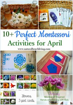 10+ Perfect Montessori April Preschool Activities - Natural Beach Living