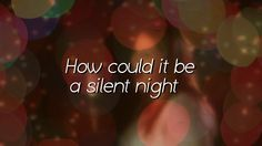 How Could It Be A Silent Night. Video available at godskidsworship.com. Audio only is also available there and at iTunes. Christmas Songs For Kids, Night Video, Godchild, Silent Night, Kids Songs, Itunes, Worship, Lyrics, Audio