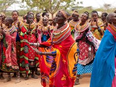 Women at the Umoja Women's Village. (Courtesy David Smoler)