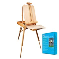 US Art Supply Coronado French Style Easel Sketchbox with 12 Drawer Wooden Pallete Shoulder Strap >>> You can find out more details at the link of the image. (This is an affiliate link) Arts And Crafts Supplies, Art Supplies, Office Supplies, Colour Mixing Wheel, Sketch Box, E 500, Art Easel, Kitchen Paint, Acrylic Colors