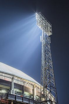 Rotterdam, Football Stadiums, Netherlands, City, Building, Canvas, Pictures, Photography, Prints