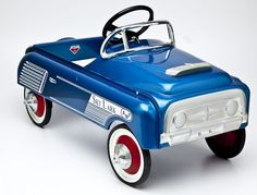 "Sky Lark AMF pedal car. MEASUREMENTS: 35"". CONDITION: Restored."