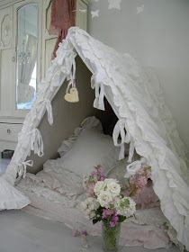 Simply me: Shabby Chic Tent for Sadi