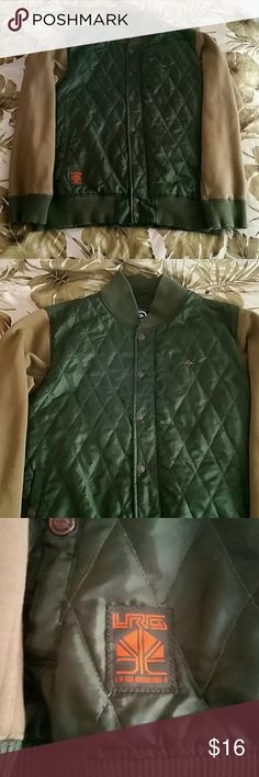 LRG Green Jacket Up for sale is a stylish LRG Green Jacket. The size is large. It is like new condition and looking for a new owner. Feel free to make an offer! Lrg Jackets & Coats