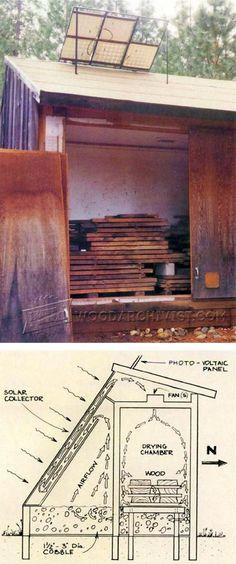 Wood Kiln Plans - Woodworking Tips and Techniques | WoodArchivist.com
