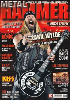 Metal Hammer 318. Zakk Wylde: Black Label Society, rey de la velocidad!